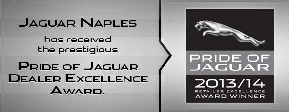 Jaguar Naples Honored with Top Award