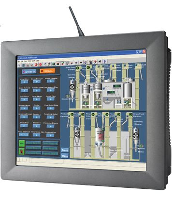 The SCADA solution will run on this Advantech Touch Panel Computer