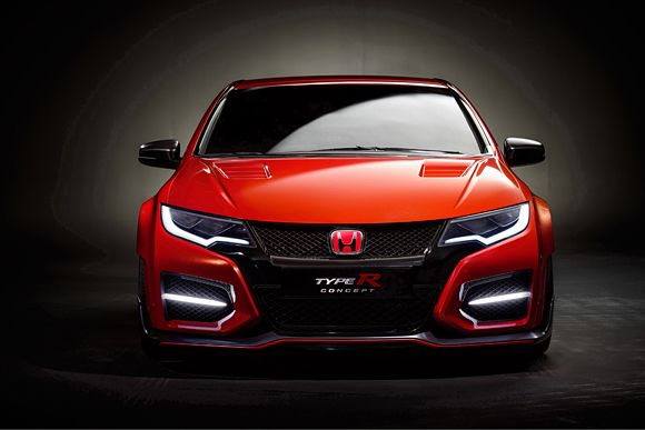 2015 Civic Type R Front Shot