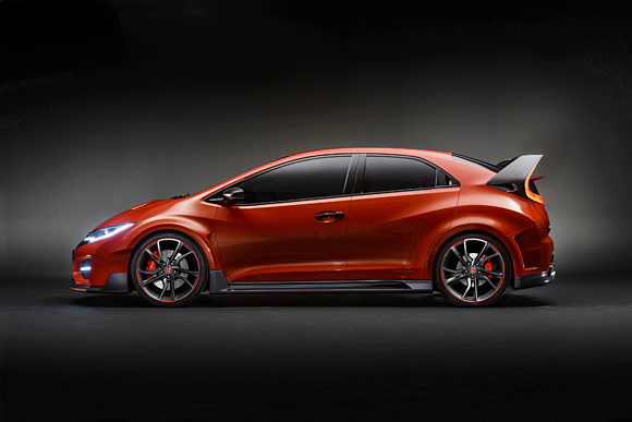 2015 Civic Type R Side Shot