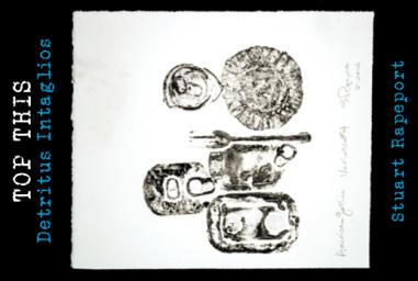 Stuart Rapeport, American Gothic Variation #4, 2014, intaglio, on Stonehendge