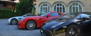 luxury car rental Switzerland