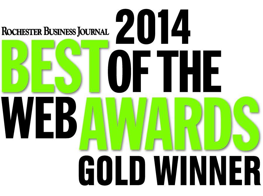2014 BOW logo, Gold Winner (Green)
