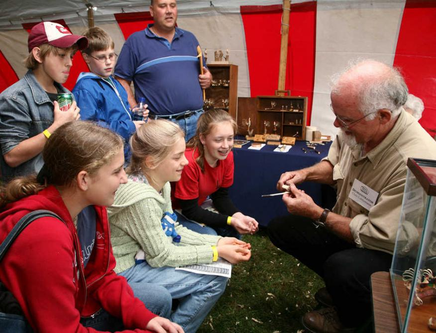 Hands-on fun for the whole family at Fox's Woodworking Show May 9-10