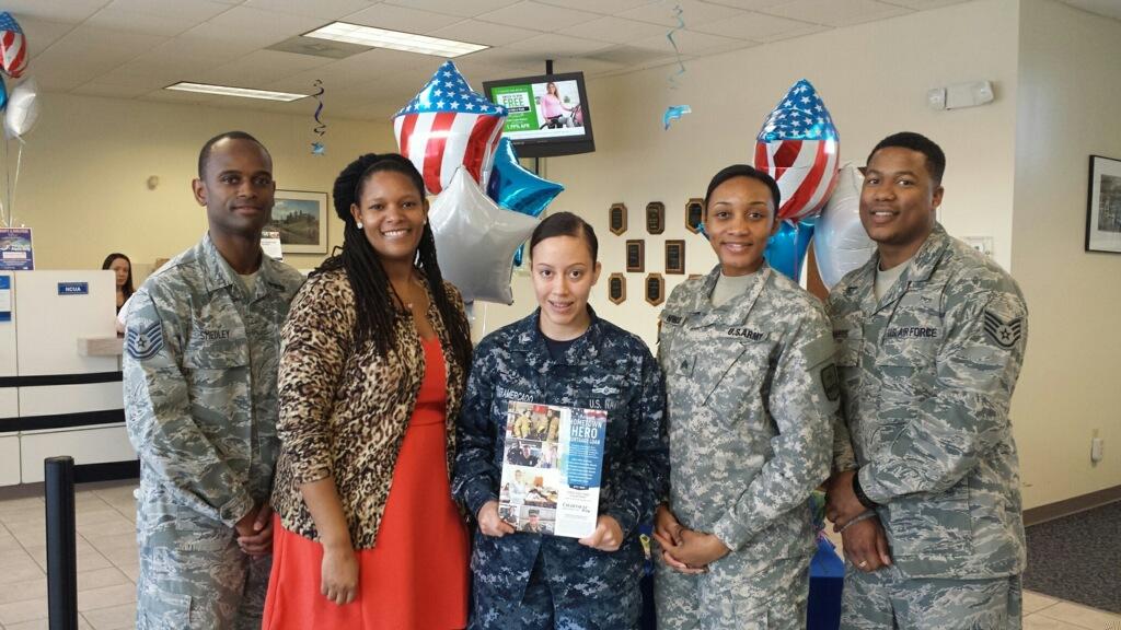 Members of the Military Grateful for Hometown Hero