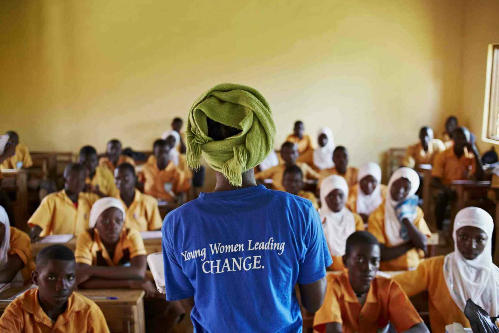 Cama Alum Teaching Camfed Students