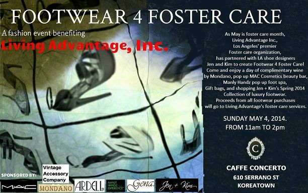 footwear 4 foster care Invite