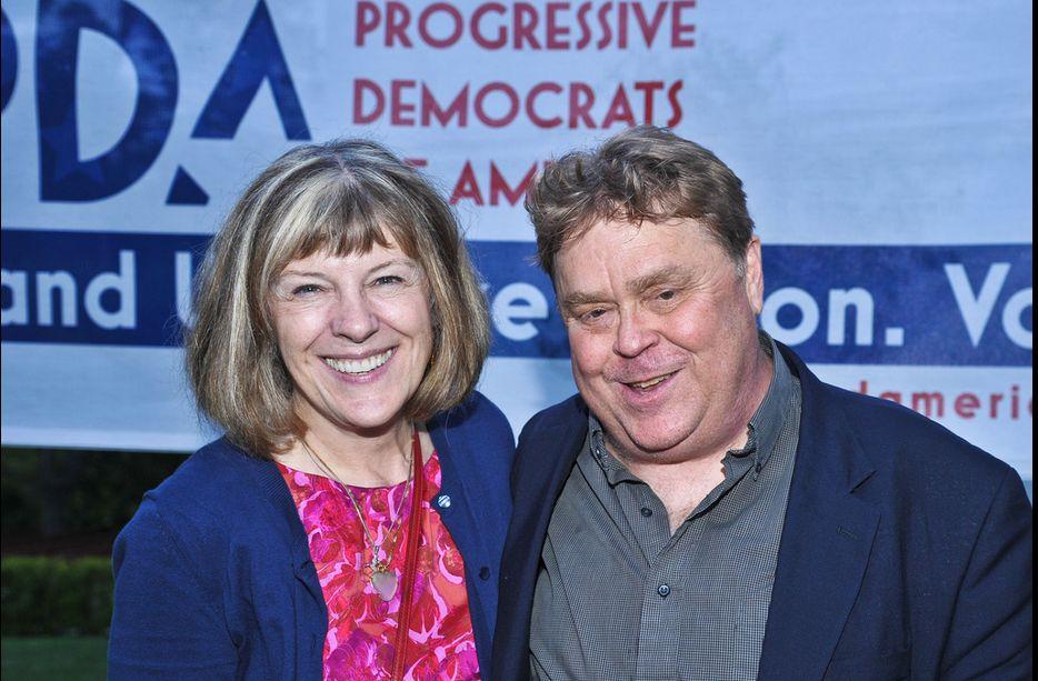 Tim Carpenter and Advisory Board Chair Mimi Kennedy