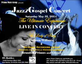 jazz to gospel