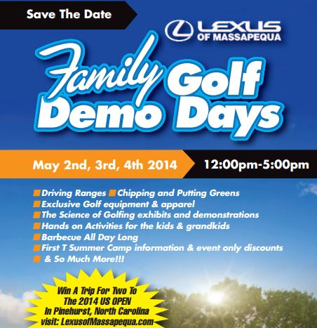 Lexus of Massapequa Golf Demo Days: Free Event