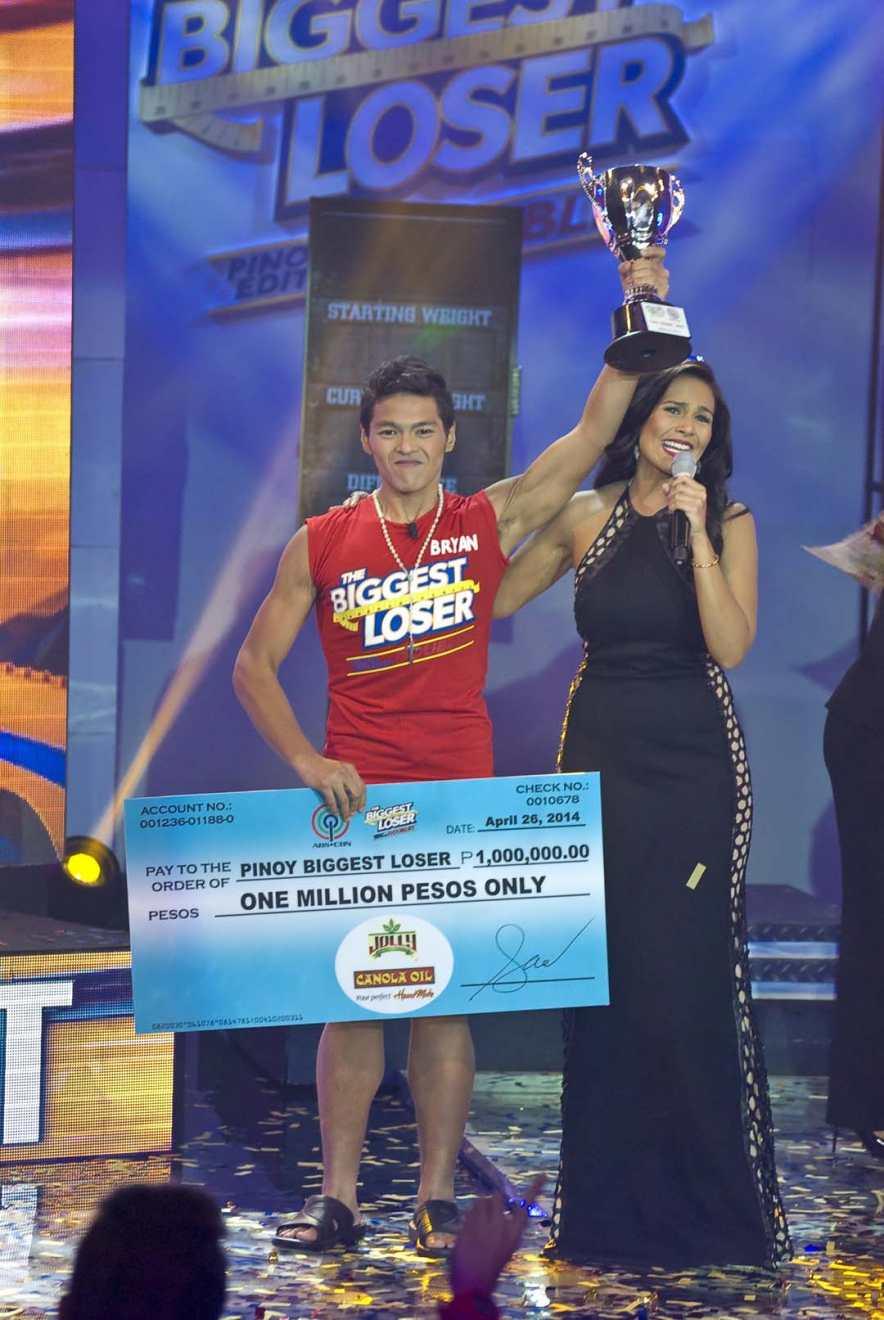 Pinoy Biggest Loser Bryan Castillo and Iza Calzado