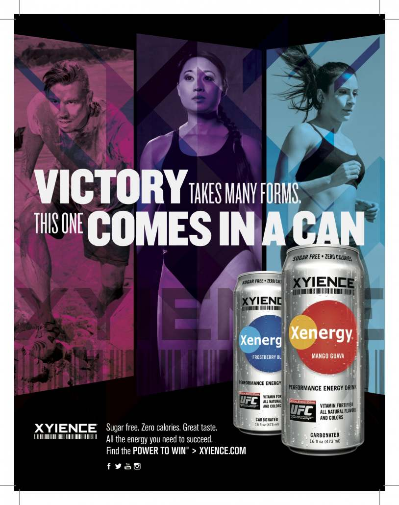 """XYIENCE launches """"Power to Win"""" advertising campaign"""