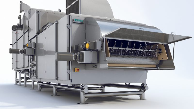 Ceres, Bühler Aeroglide's New Hygienic Dryer Designed for Coated Cereal