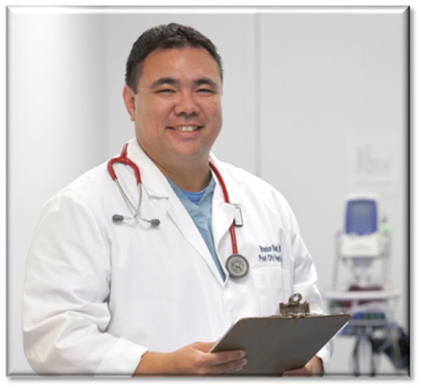 Medical Director and Occupational Medicine Specialist, Dr. Brandon Shirai