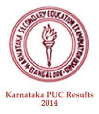 Karnataka PUC Results 2014