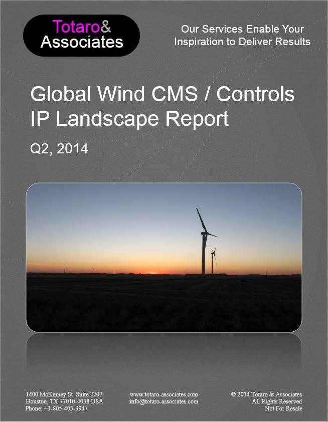 Global Wind CMS / Controls IP Landscape Report