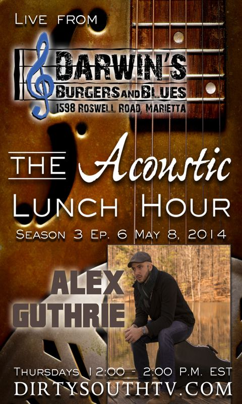 Acoustic Lunch Hour-Season 3-Episode 6-Alex-Guthrie