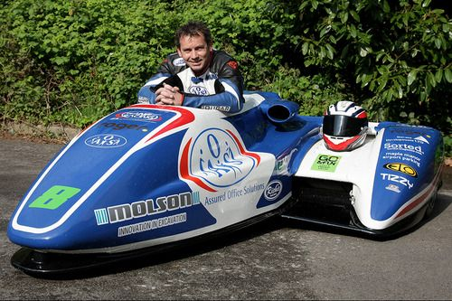 Our driver Mark Edwards hopes for racetrack victory this season.