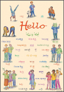 "Multilingual ""Hello"" Poster"