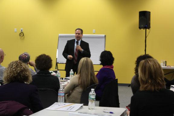 Jeff Goldberg at The Entrepreneur Center.