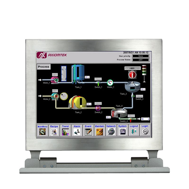 Axiomtek's GOT812LR-832 Touch Panel PC