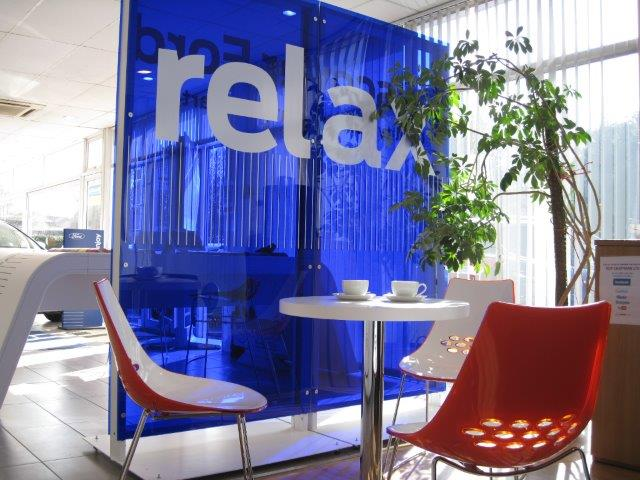 Relax whilst you wait at Roy Chapman Ltd sml