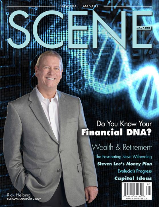 Rick Helbing Featured on Scene March 2014 Cover