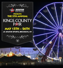The 5th Annual Kings County Fair returns to Aviator Sports and Events Center