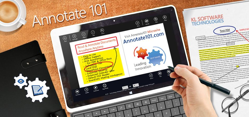 Annotate101 - Leading PDF Annotations & SharePoint connectivity app for Windows