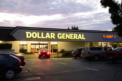 Dollar General in Montclair, Calif.