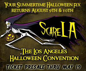 ScareLA 2014 Tickets Presale Banner Save 30%