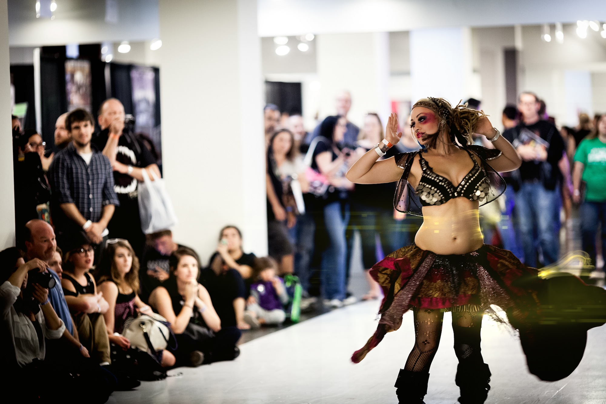 ScareLA Belly Dance Performance _ Photo Credit Magic Box The Reef