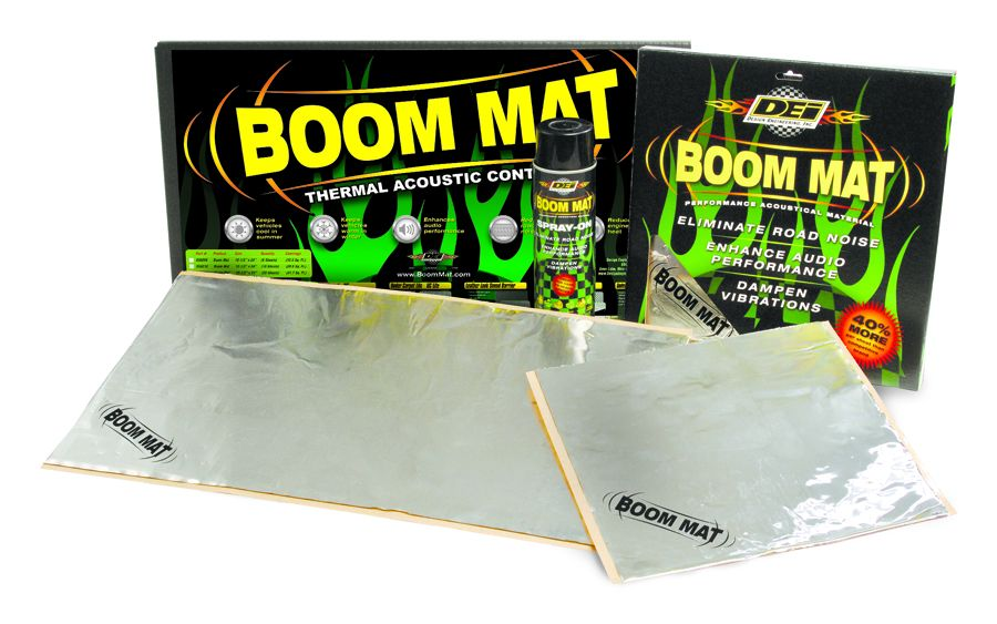 Boom Mat 30 sheet pack damping material is now available