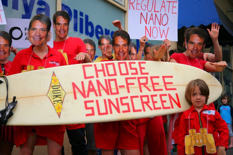 """Friends of the Earth"" campaign against nanoparticles in sunscreens"