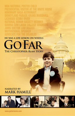 Go Far: The Christopher Rush Story world premier at NIFF, June 19th