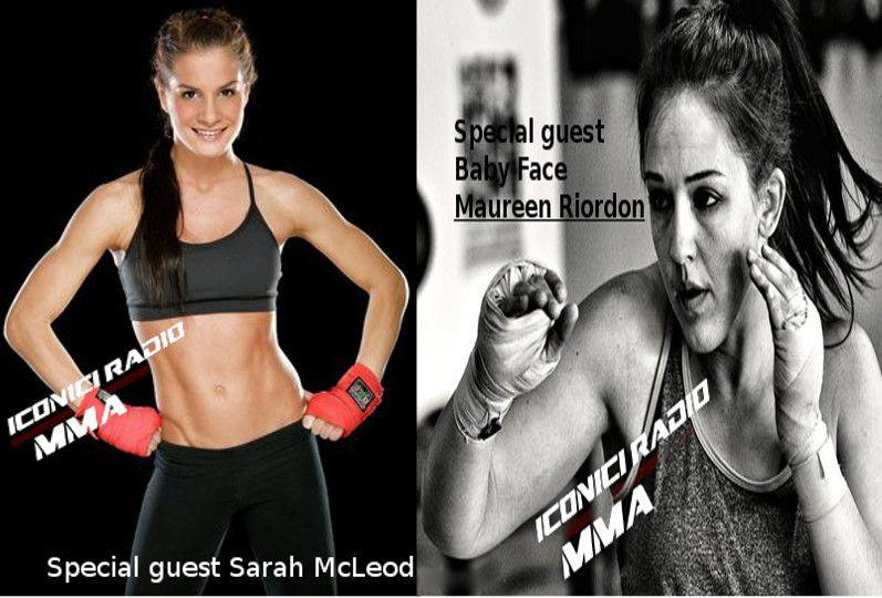 Sarah and Maureen Iconici Radio MMA