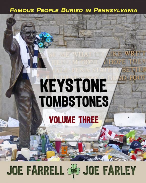 The latest edition in the Keystone Tombstones series