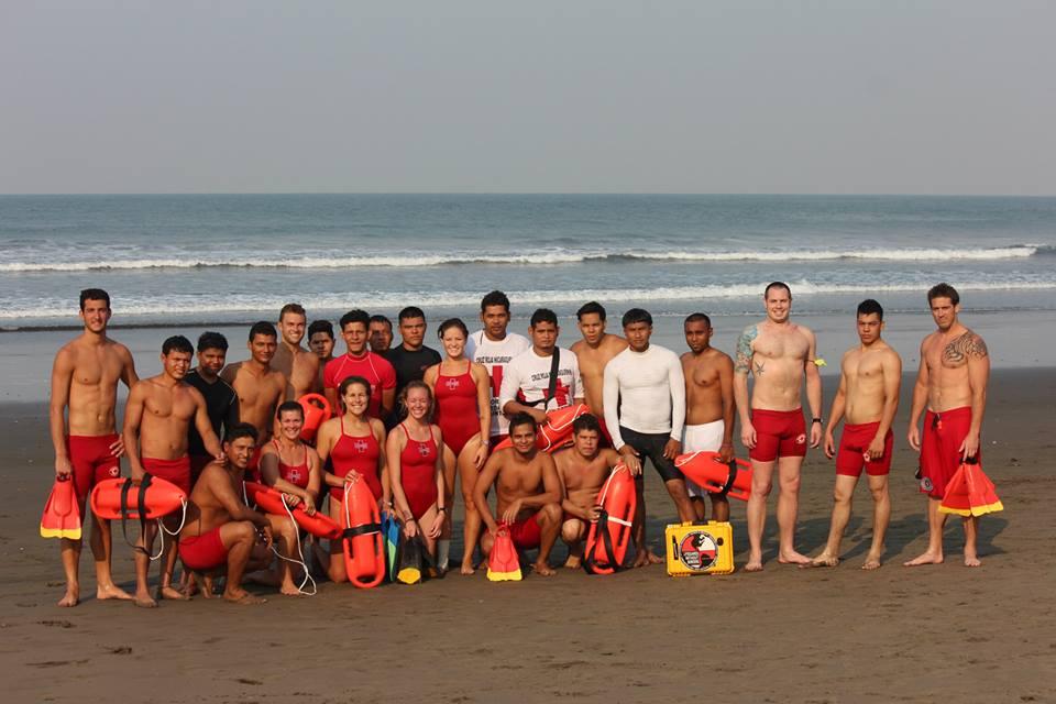 ISLA/LWB team with NRC guards during Semana Santa 2014
