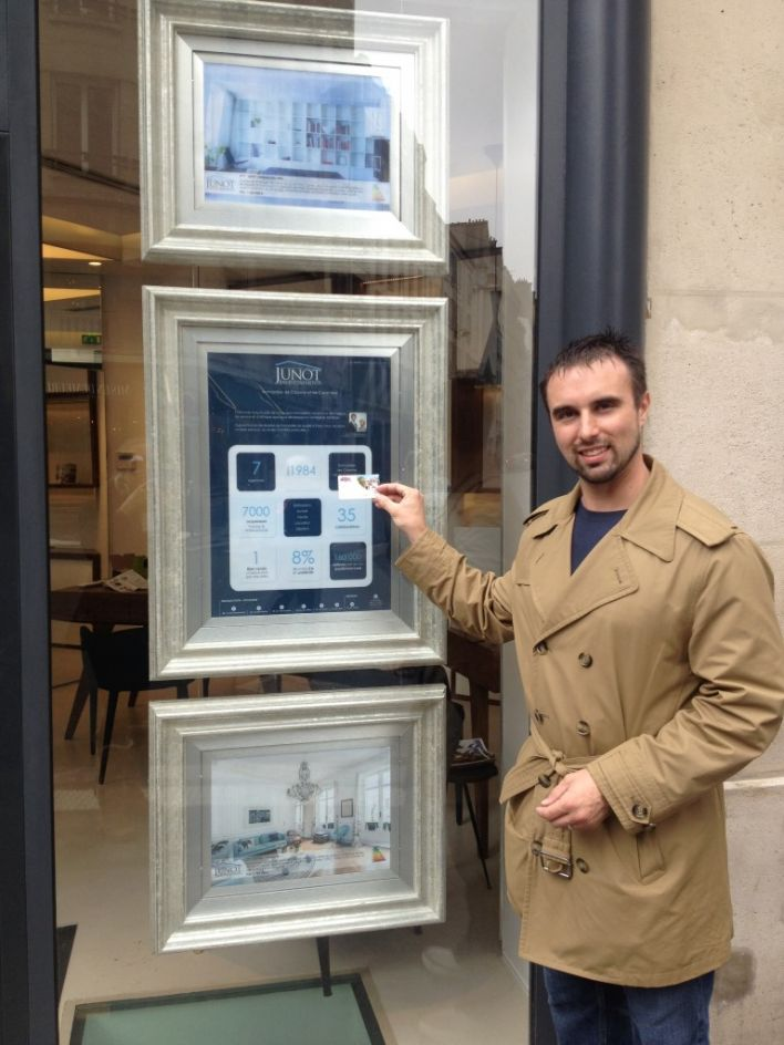 Ryan Ford at Junot Investments in Paris