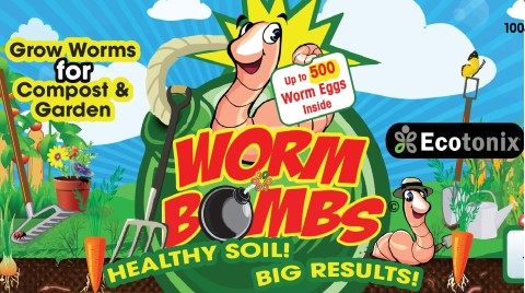 Worm Bombs by Ecotonix
