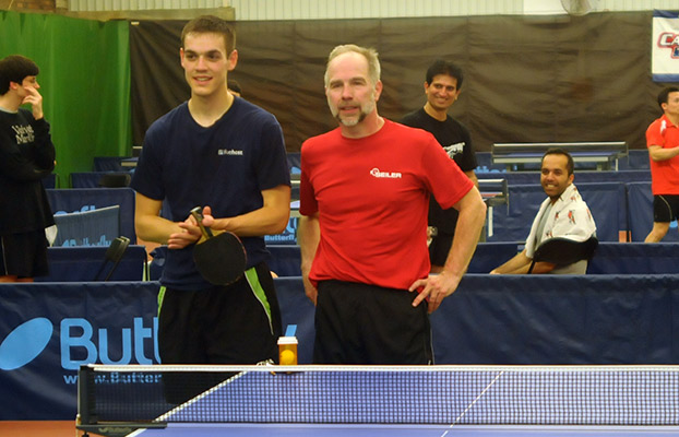 (left to right) Joey Cochran and Tournament Director Dan Seemiller