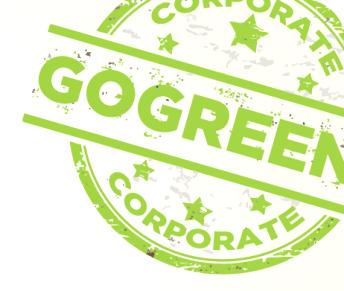 Go Green Corporate logo