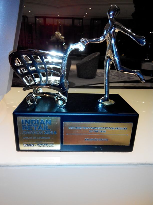 Reliance Digital wins the Best Indian CDIT Retaile