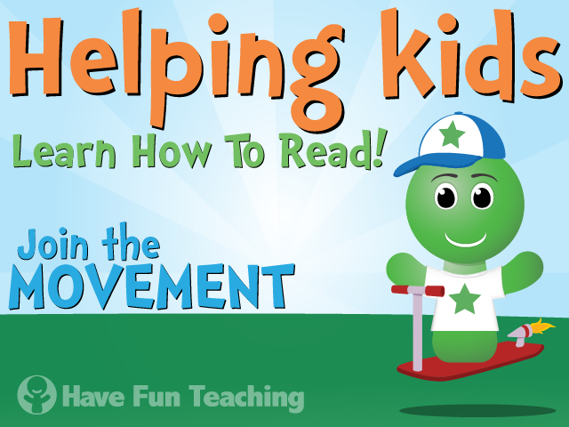 Have Fun Teaching - Helping Kids Learn How To Read