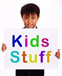 small-boy-showing-kids-stuff-board