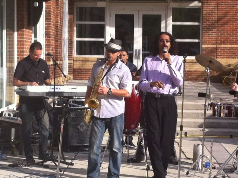 Prince George's county Council Vice Chair Will Campos and the Verny Varela Band