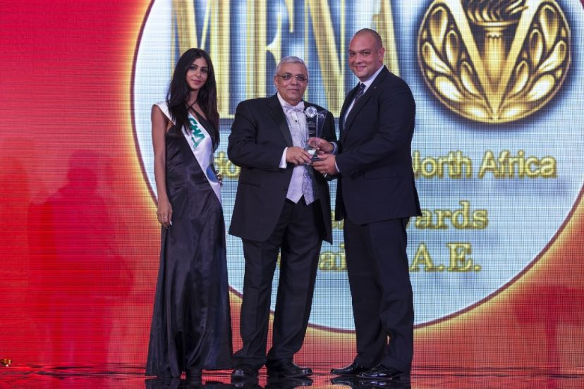 Hilton KHBTCC receives MENA Travel Award 2014