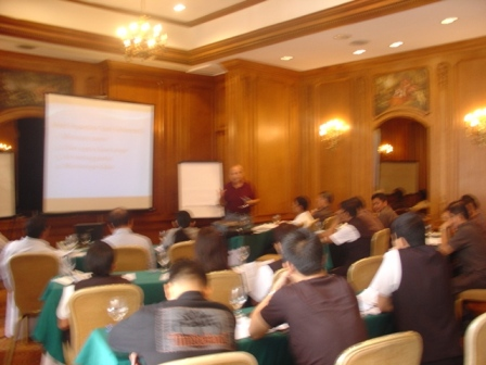 Environmental Training by Instructor Phillip Fry