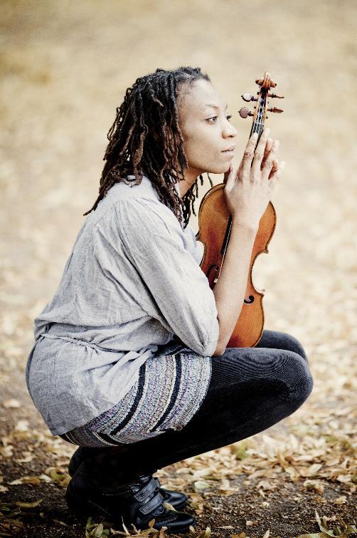 Violinist Tai Murray