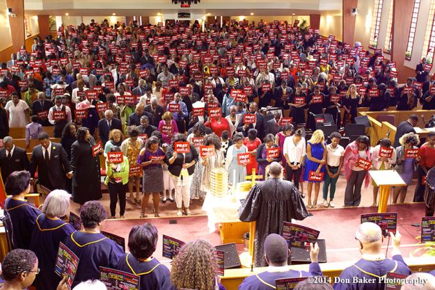 ASBC congregation May 11, 2014